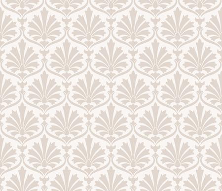 mustered: Seamless fancy flower pattern