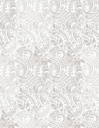 mustered: Seamless artistic flower wallpaper