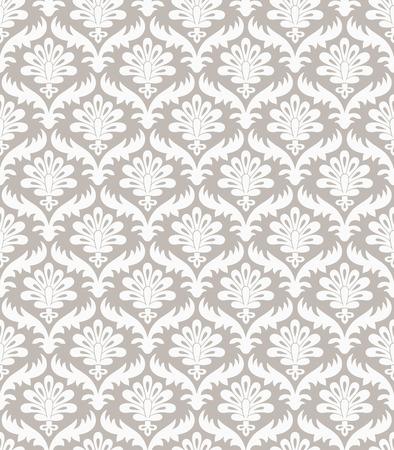mustered: Floral fancy pattern Illustration