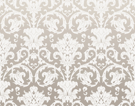 mustered: Damask rich wallpaper