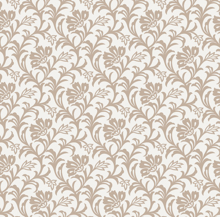 mustered: Seamless floral background Illustration