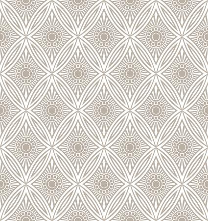 mustered: Designer seamless wallpaper Illustration