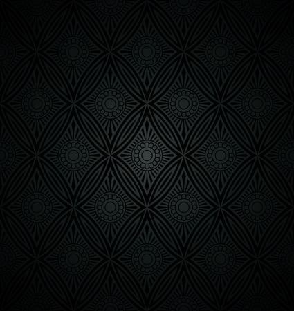papier peint noir: Luxueux fond d'�cran noir Illustration