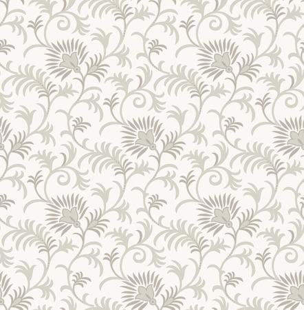 Royal fancy floral background Vector