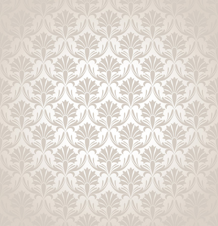 mustered: Seamless damask background