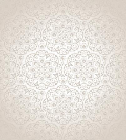 vector wallpaper: Traditional seamless vector wallpaper Illustration