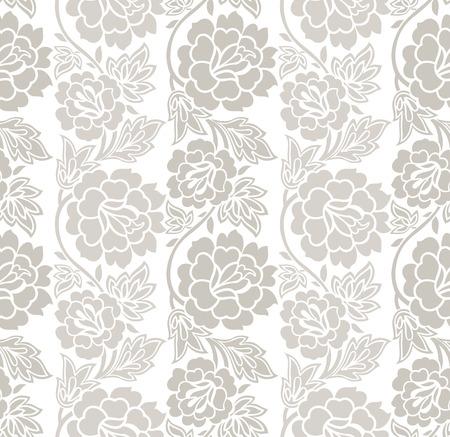 vector wallpaper: Floral seamless vector wallpaper