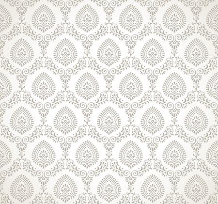 벡터 원활한 전통적인 벽지 스톡 콘텐츠 - 27383250