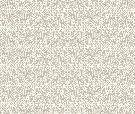 carte invitation: Paisley carte d'invitation de fond sans soudure