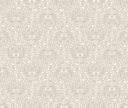 mustered: Paisley seamless invitation card background