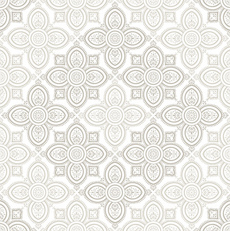 mustered: Royal seamless damask wallpaper Illustration