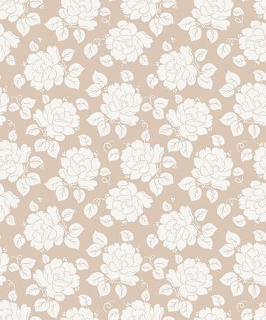 mustered: Fancy fondo floral sin fisuras
