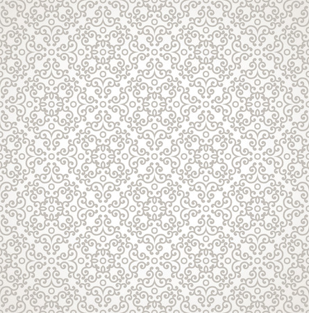mustered: Damask vector seamless background
