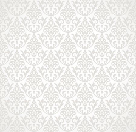 ornamental background: Seamless floral ornamental background