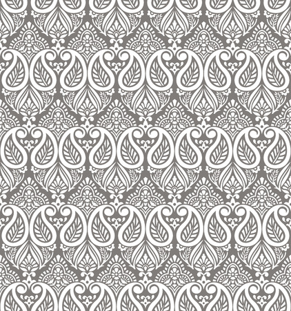 Paisley seamless vector wallpaper Vector