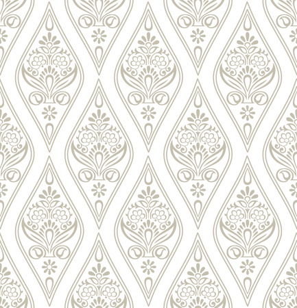 mustered: Damask Royal Wallpaper