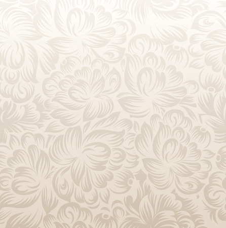 mustered: Fancy golden floral background