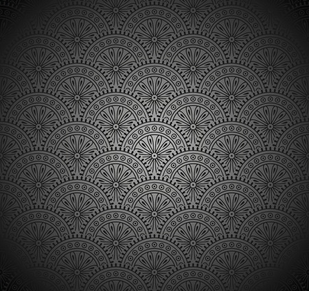 rich black wallpaper: Royal Seamless Black Wallpaper