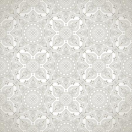 laminated: Designer seamless wallpaper Illustration