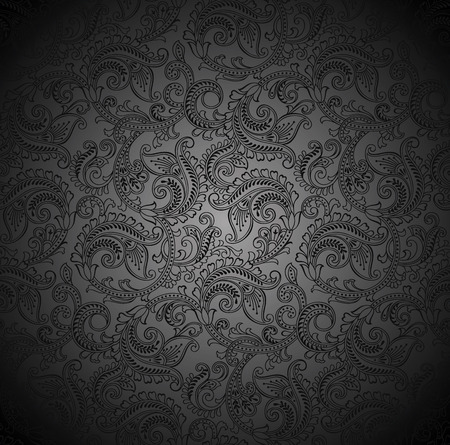 Luxurious seamless paisley wallpaper Vector