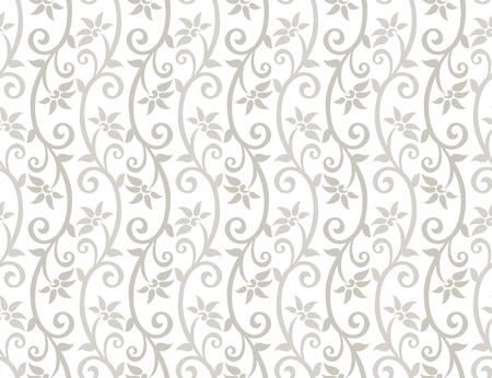 mustered: De fondo sin fisuras florales Vectores