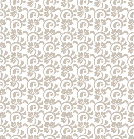 laminated: Floral royal seamless wallpaper