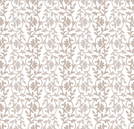 mustered: Luxurious damask floral background