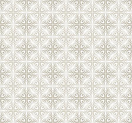 mustered: Damask rich floral wallpaper Illustration