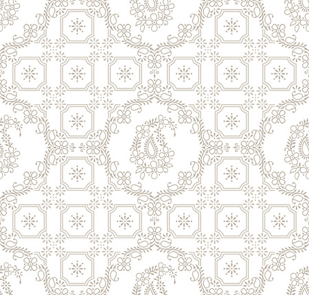 Paisley royal seamless wallpaper Vector