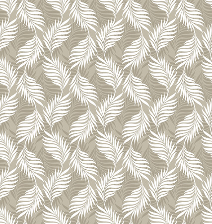 mustered: Seamless leaves background