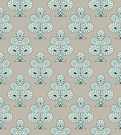 Seamless pattern for textile fabrics Illustration