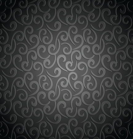 luxurious seamless wallpaper: Royal floral seamless wallpaper Illustration