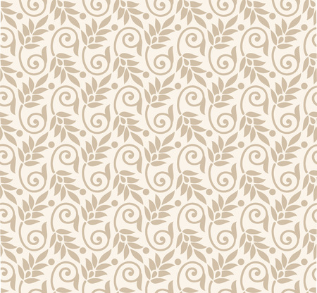 Luxurious seamless floral wallpaper