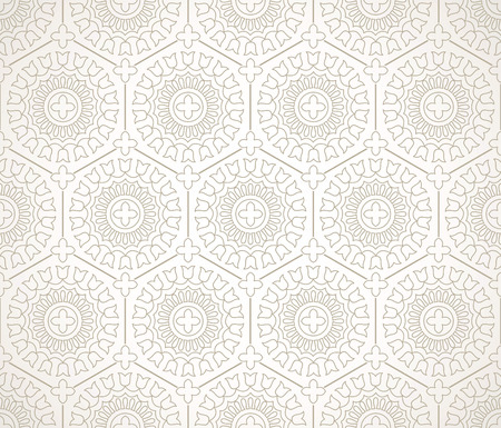 luxurious: Seamless luxurious floral background