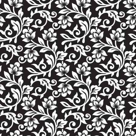 luxurious seamless wallpaper: Seamless Floral Pattern Illustration