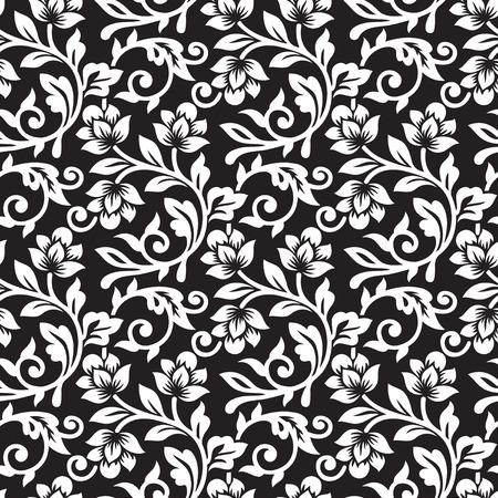 Seamless Floral Pattern Illustration