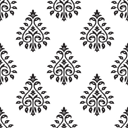 seamless patterns: Seamless Damask Pattern