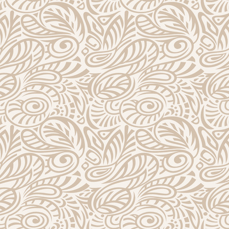 mustered: Floral Seamless Pattern