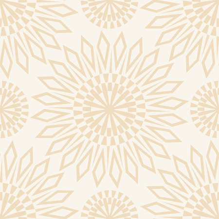 mustered: Seamless floral pattern