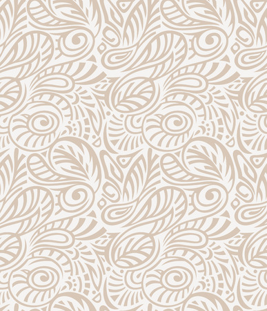 Vector - Floral seamless royal golden wallpaper