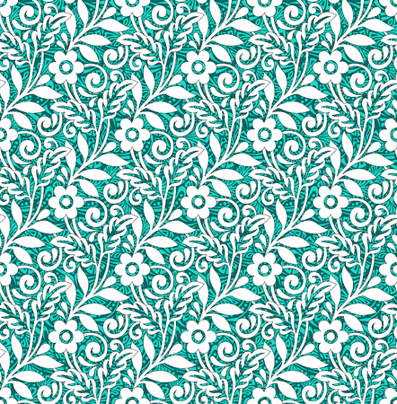 royals: Floral seamless pattern