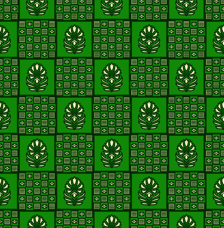 Seamless traditional indian pattern Stock Photo