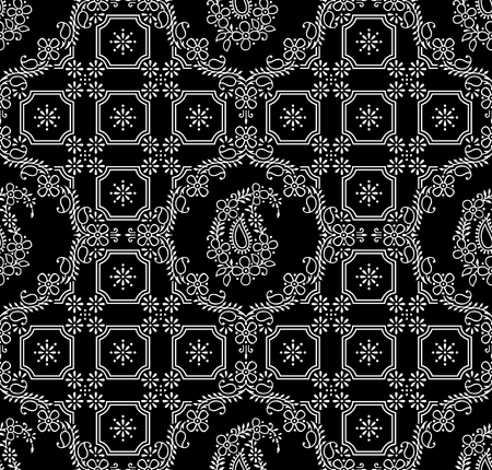 Paisley royal seamless wallpaper