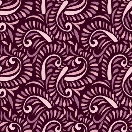 Seamless vector paisley pattern 일러스트