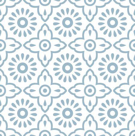 Seamless small textile floral pattern design Ilustração