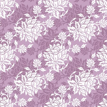 Seamless Vintage floral pattern design