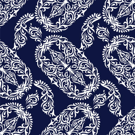 Seamless vector ornamental pattern design