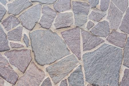 Gray stone tile. Italy walking paths