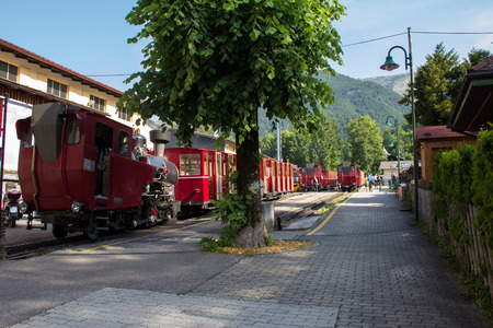 wolfgang: Schafberg Austria The Schafbergbahn is a narrow gauge rack railway in Austria. Takes you from St. Wolfgang up to the Schafberg 1782 m.