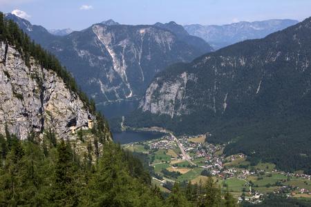 austrian: Dachstein, Austrian Alps. Stock Photo